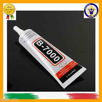 COLLA GLUE ZHANLIDA B7000 50ml MEDIA VISCOSITà PER IPHONE SAMSUNG LG SMARTPHONE