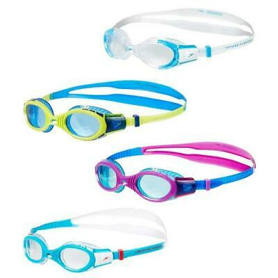 SPEEDO FUTURA BIOFUSE JUNIOR SWIMMING GOGGLES UV PROTECTION ANTI-FOG Age 6-14yrs
