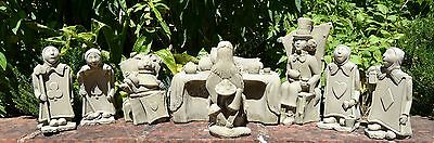 Alice in Wonderland Set with The Trumps/Garden Ornament/Sculpture/Stone/Gift