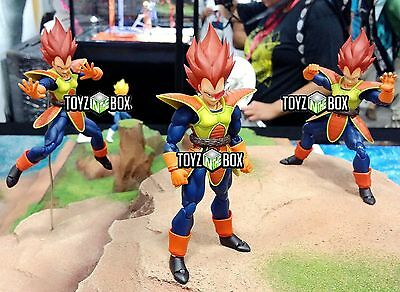 "In STOCK S.H. Figuarts Dragoball Z SDCC 2014 ""Vegeta"" Animation Action Figure"