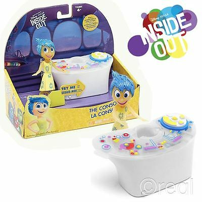 New Disney Inside Out The Console Playset & Joy Figure Pixar Official Licensed