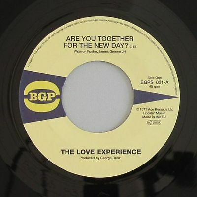 LOVE EXPERIENCE, The/87TH OVER BROADWAY - Are You Together For The New Day - 7""