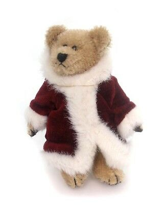 Boyds Bears Plush NICHOLAS BEARINGTON Santa Teddy Bear Mohair Jointed 590107