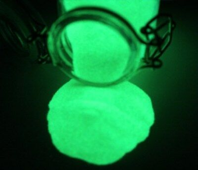 GREEN Glow in the Dark Pigment Powder 10g, Daytime Invisible, Resin Coating, Art