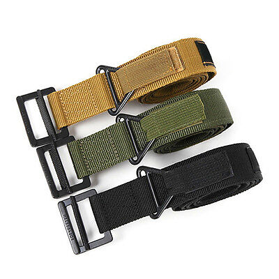 Adjistable Military Tactical Emergency Belt Rescue Rigger Survival Belts OE