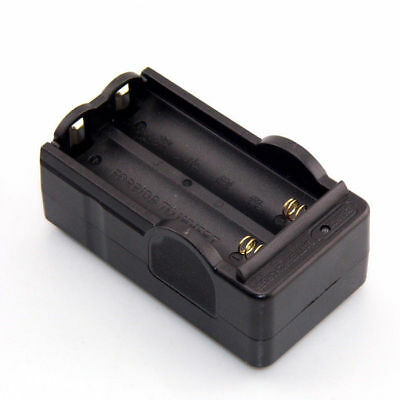 Universal 3.7V Battery 2 Ports Charger For 18650 16340 26650 Li-ion EU/US