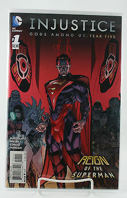 Injustice Gods Among Us: Year Five #1! 1st Print! Unread! NM! 2016