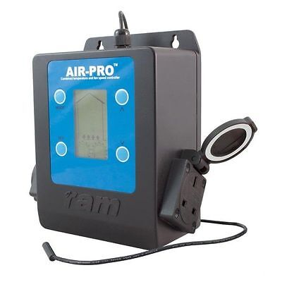 RAM Air-Pro High Power Twin Fan Speed Silent Climate Controller Temperature Grow