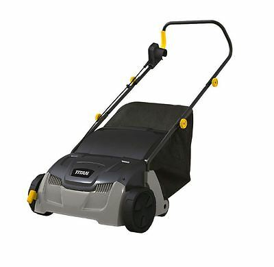 Garden Lawn Scarifier And Raker 2 IN 1 Corded Electric Grass Collector 5 Blades