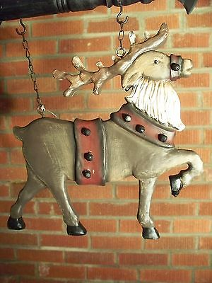 """REINDEER"" Replacement Sign - Resin Sign for Country Arrow Holders"