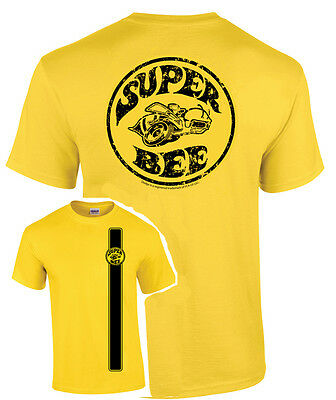 T-Shirt w/ Dodge Super Bee Logo Emblem (Licensed)