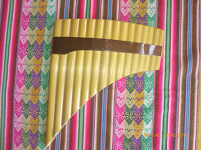 Awesome Professional  Panflute 15   Pipes  From Peru Case Included Item In Usa