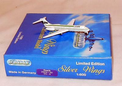 Silver Wings Ozark Airlines Dc-9 Ltd Edition #2924/181 Diecast Airplane