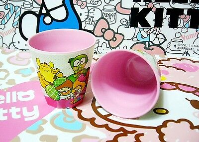 """Sanrio Characters Hello Kitty Family Melamine Cup 3.25"""" Top Diameter For ONE Cup"""