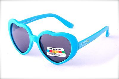 Baby Heart Design Polarized Sunglasses Lightweight UltraViolet Blocking KR505POL