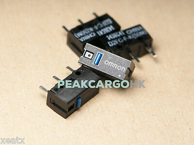 4x OMRON D2FC-F-K(50M) Ultra Subminiature Switches - RAZER Logitech APPLE Mouse