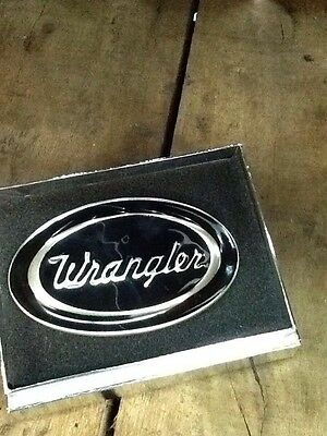 *new* Wrangler Shiner Buckle Western Country Rodeo Farm