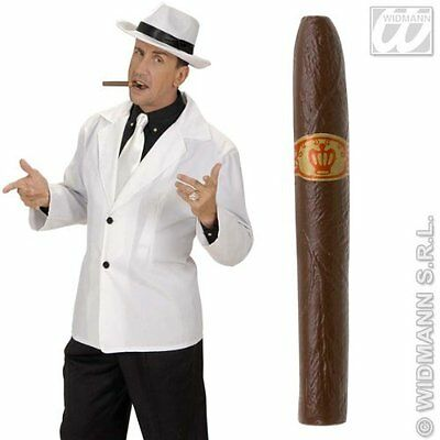 Fake Plastic Joke Cigar Fancy Dress Gangster Mexican Pimp Costume Accessory Prop