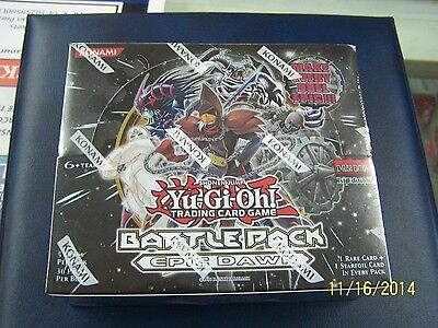 Yu-Gi-Oh Epic Dawn Battle Pack Booster Box (36 Packs)  1st Edition