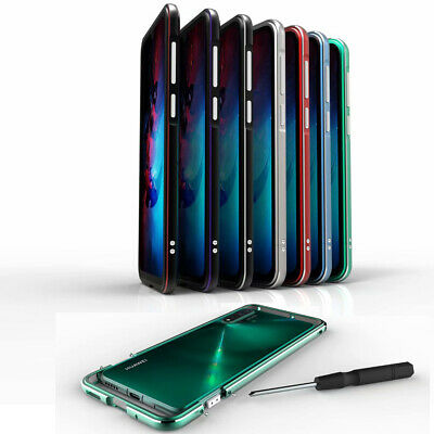 Aluminum Metal Bumper Case Armor Hard PC Cover For Huawei Mate 20 Pro Sony XZ3