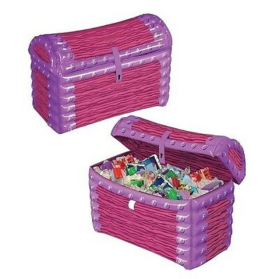 Beistle - 50255 - Inflatable Princess Treasure Chest Cooler. Delivery is Free