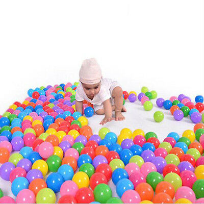 50PCS 5.5cm Colorful Soft Plastic Water Pool Ocean Ball Baby Kid Swim Pit Toy