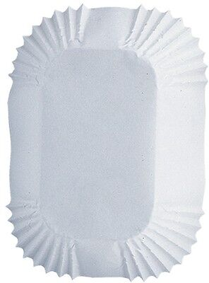 Baking Cups-White Petite Loaf 50/Pkg. Brand New