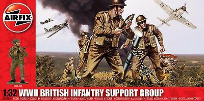 AIRFIX A04710 WWII British Infantry Support Group 1:32