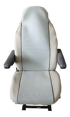 Fiat Ducato Luxury Motorhome Seat Covers - New Woven Beige Design