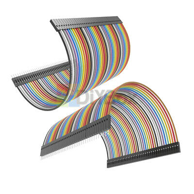 40PCS Dupont 10CM Male To Female Jumper Wire Ribbon Cable for Arduino D