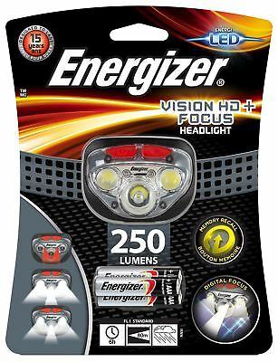 Energizer Vision Hd+ Focus 250 Lumens Led Advanced Headlights 80M Beam Distance