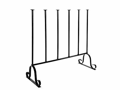 Wellington Boot Rack - Metal - Indoor / outdoor - Holds three pairs of Wellies