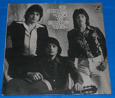 Los Chichos Lp Amor de Compra y Venta Calo Philips Rumba Flamenco 1980 Spain