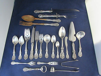 102pc SET - Reed & Barton Sterling Silver FRANCIS I Service for Twelve *