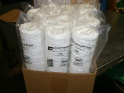 1SS Campbell Water Filters 5 Micron Sediment Cartridges 12pk Authentic USA