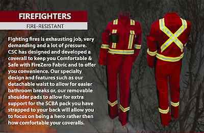 CSC Workwear Fire Resistant Coveralls, Bringing Workwear into the 21st Century.