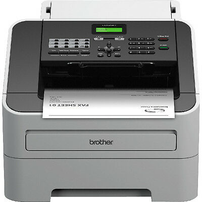 Brother FAX-2940 Mono Laser Fax Machine Grey