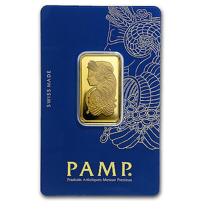 20 gram Gold Bar - PAMP Suisse Fortuna Veriscan in Assay - SKU #49374