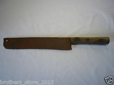 Antique Ottoman period Ncient Authentic Medieval Uncleaned Knife Chopper