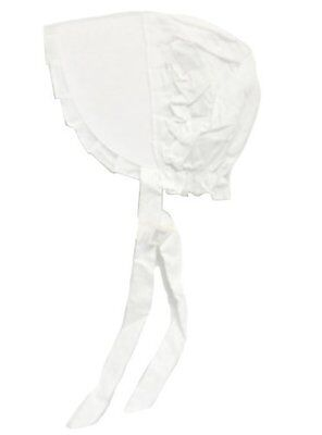 White Bonnet Size Medium #15