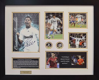 Christiano Ronaldo Framed Limited Edition *Stock Clearance Sales*
