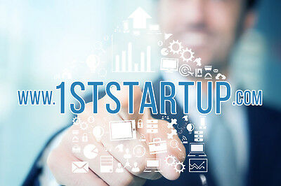 Premium Domain Name => 1STSTARTUP.COM <= For Sale!!