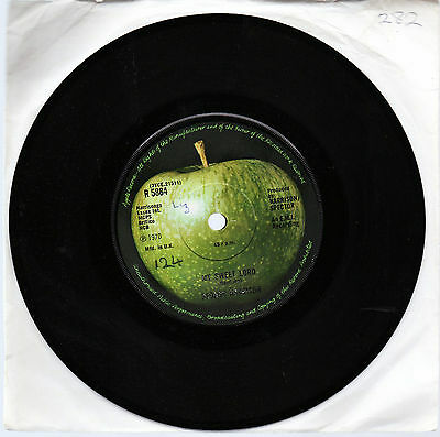 GEORGE HARRISON My Sweet Lord/What is Life 1970 UK single Apple R5884 Beatles