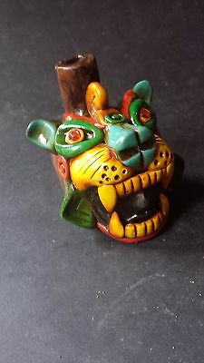 Ocarina Flute Tiger Whistle Mexican Latin Musical Percussion Woodwind Instrument