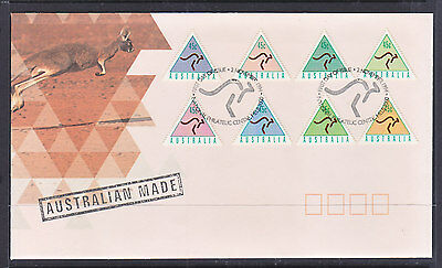 1994 Australia Made Fdc The Triangle Stamps.