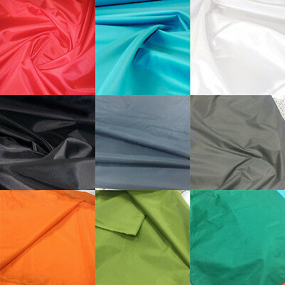 """PU COATED WATERPROOF NYLON Material Outdoor Kite Clothing FABRIC 59"""" By Meters"""