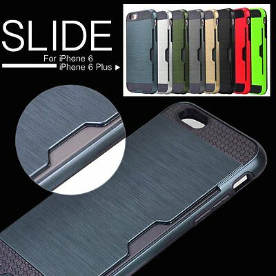 Luxury Shockproof Ultra-thin Armor Back Case Cover for Apple iPhone 6 & 6S Plus