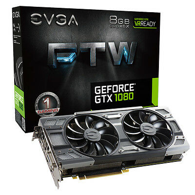 EVGA GeForce GTX 1080 8GB FTW GAMING ACX 3.0 Boost Graphics Card