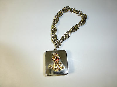 Vintage Reuge Music Box Musical Bracelet With Poodle Dog Design Fully Serviced