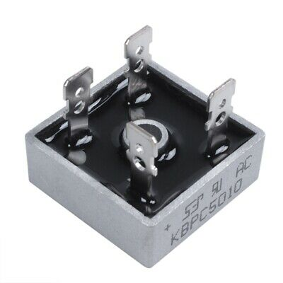 Single Phase Diode Bridge Rectifier 50A 1000V KBPC5010 New AD